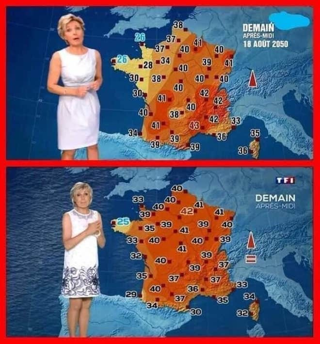 프랑스 폭염